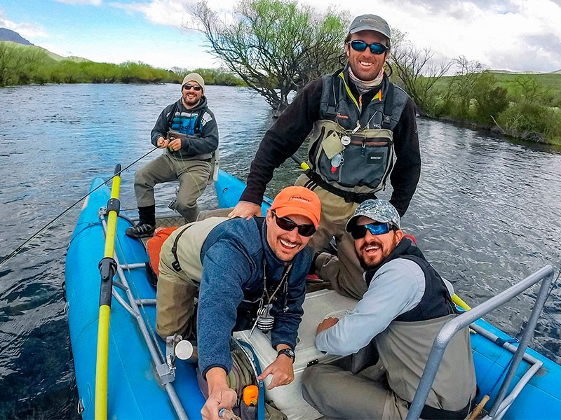 ADVENTURE AND HAPPINESS: FLY FISHING IN PATAGONIA ARGENTINA