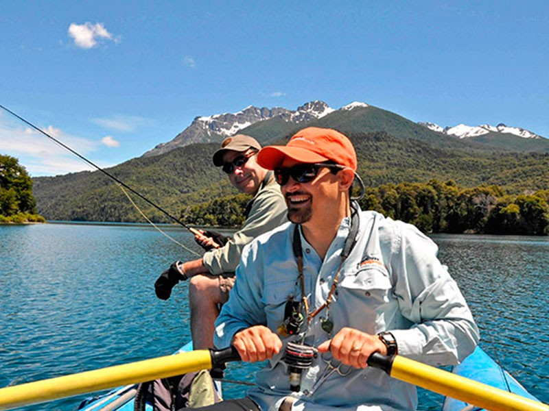 FLY FISHING IN BARILOCHE ARGENTINA