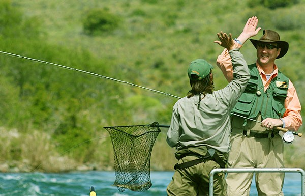Fly fishing bariloche